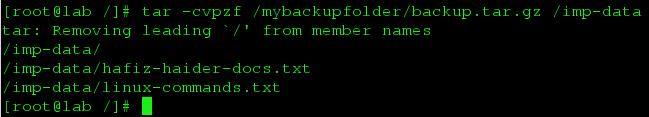 backup-using-tar
